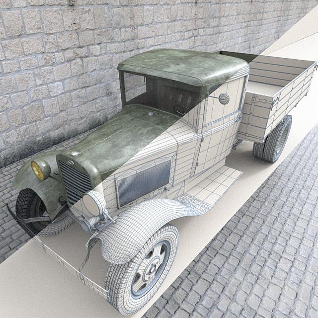 Автомобиль ГАЗ-АА