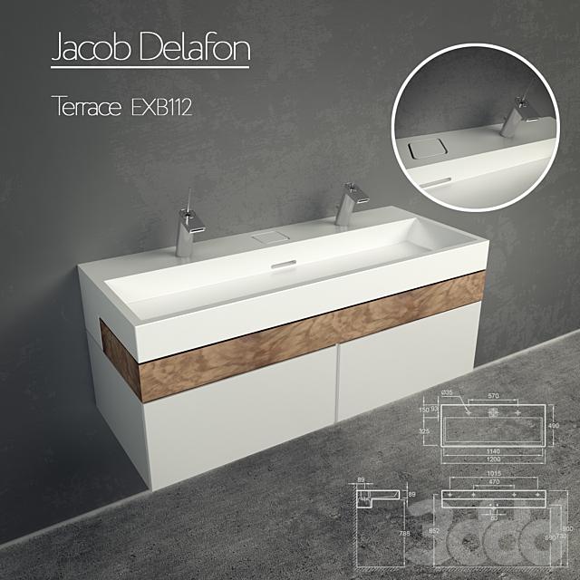 Jacob Delafon Terrace EXB112