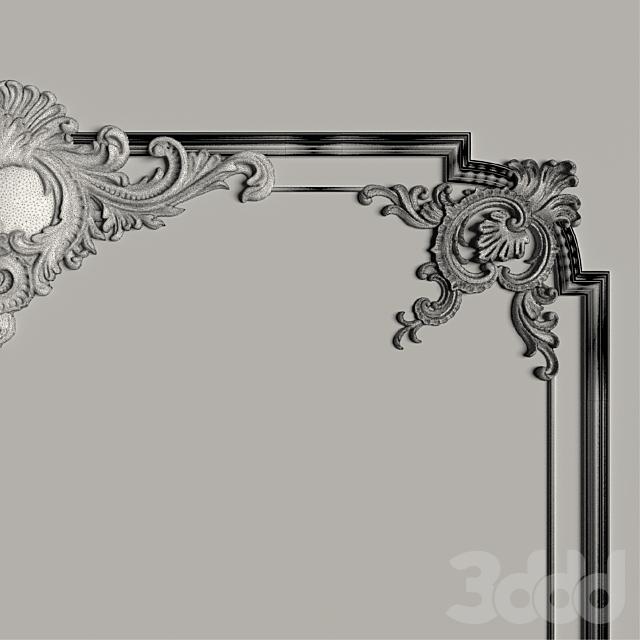 Декоративное зеркало №2