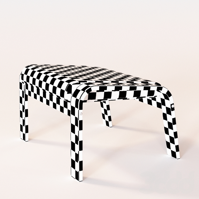 ПОЭНГ. Табурет для ног. IKEA