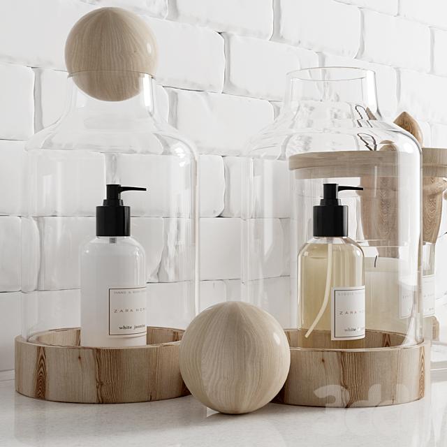 Zara bathroom set / Набор для ванной