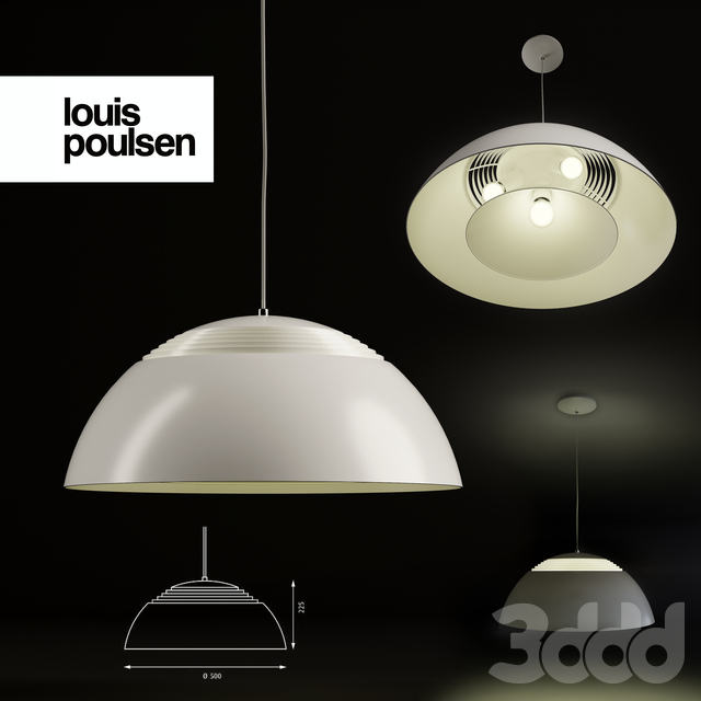 Люстра Louis Poulsen AJ Royal by Arne Jacobsen