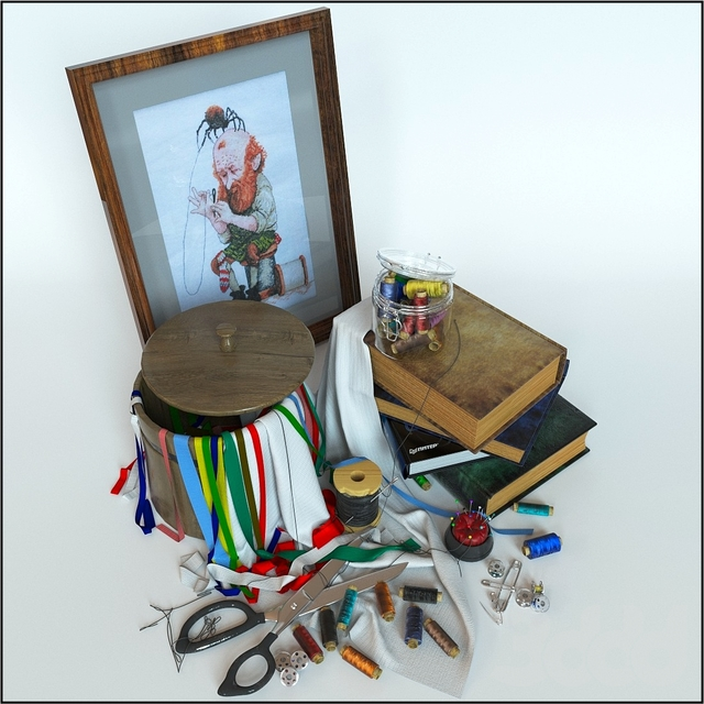 decorative set of Tailor