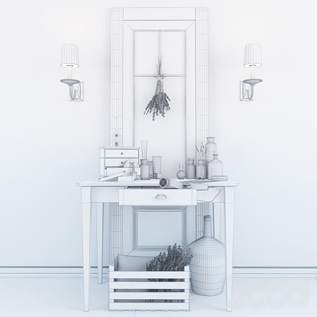 Декоративный набор. Туалетный столик.