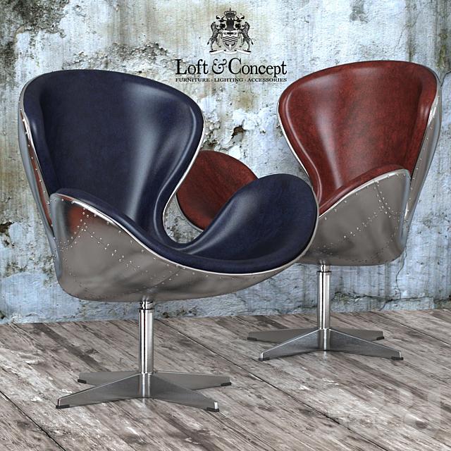 Кресло Spitfire Swan Chair Aviator (5 цветов)