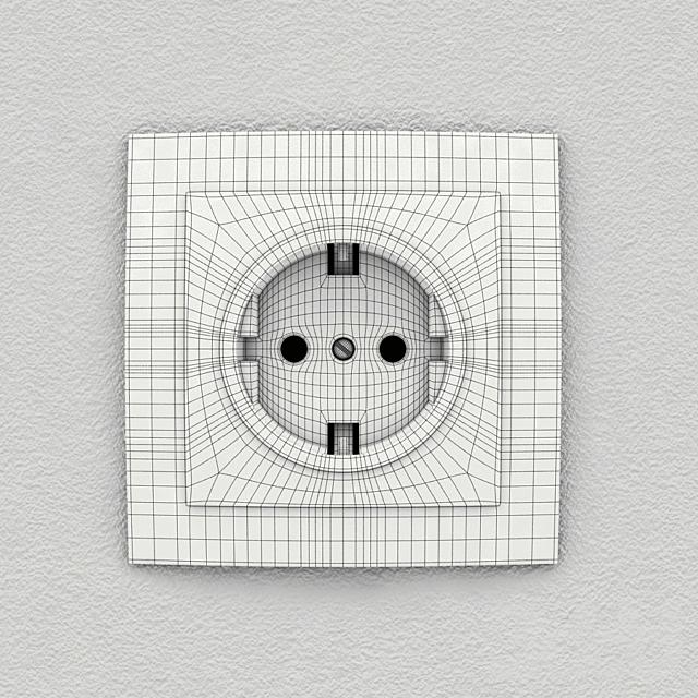 Розетка электрическая NILSON Touran