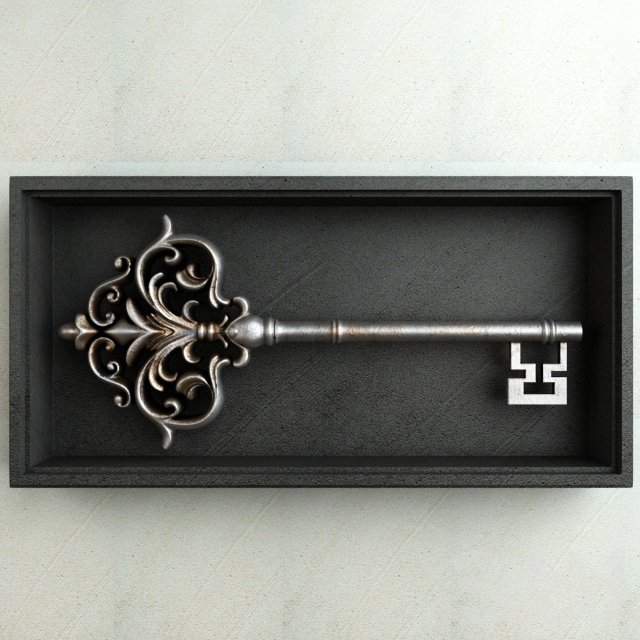 Antique Key 001