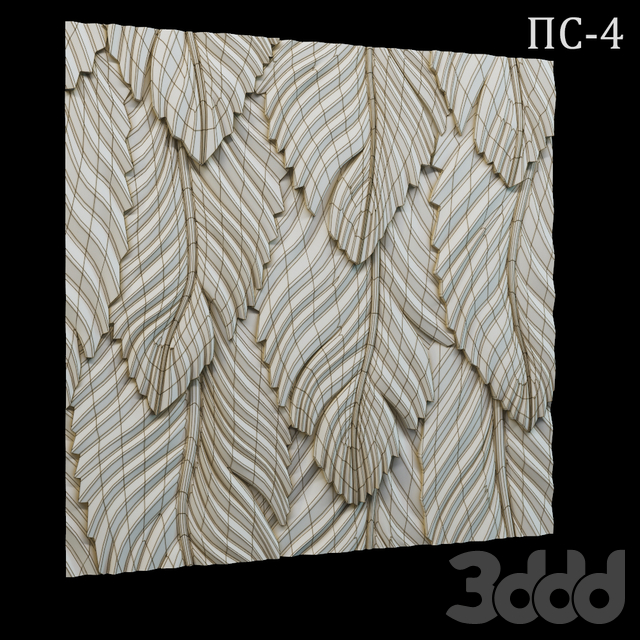Декоративная 3D панель ПС-4