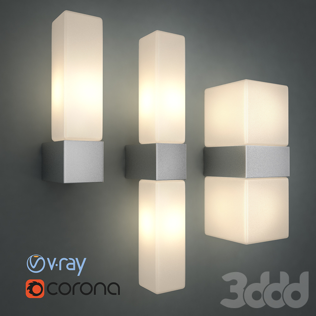 светильник настенный odeon light Wass 2136
