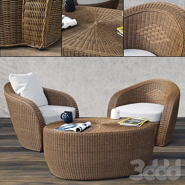 VARASCHIN Bolero Lounge Chair