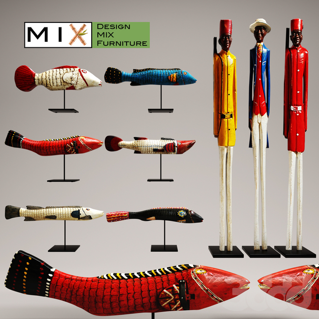 Design Mix Furniture. Collection of 9 pieces
