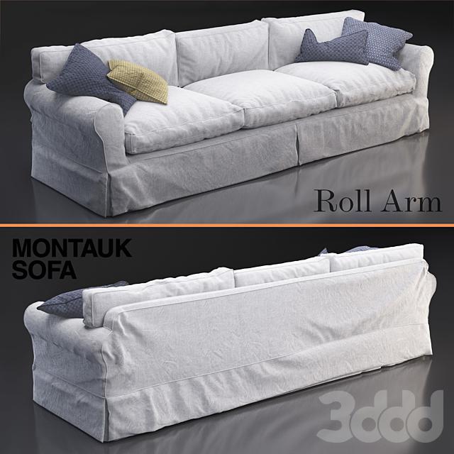 Montauk Roll Arm sofa