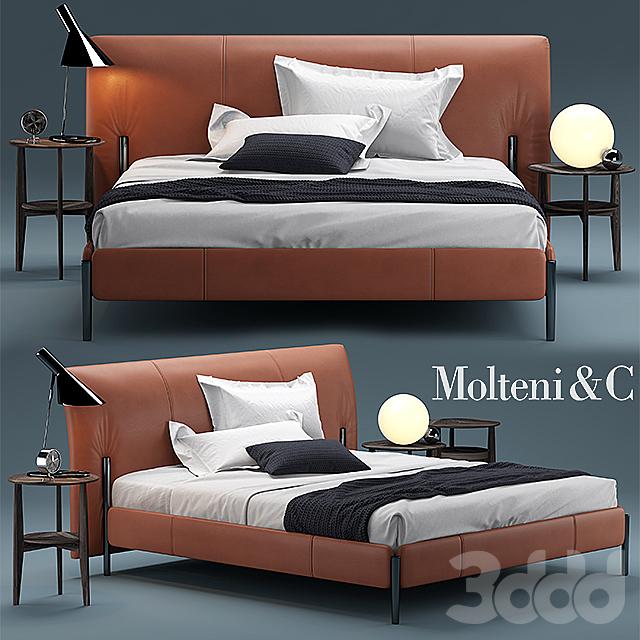 Кровать molteni BEDS NICK