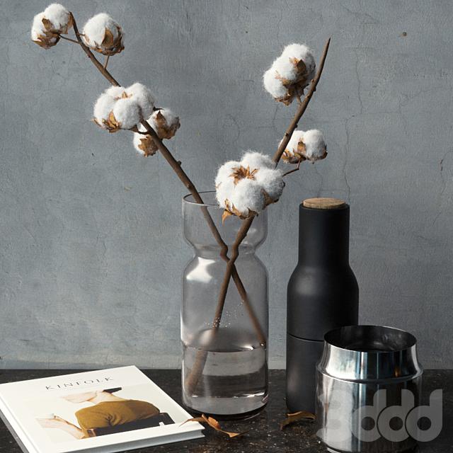 Cotton Branch Set