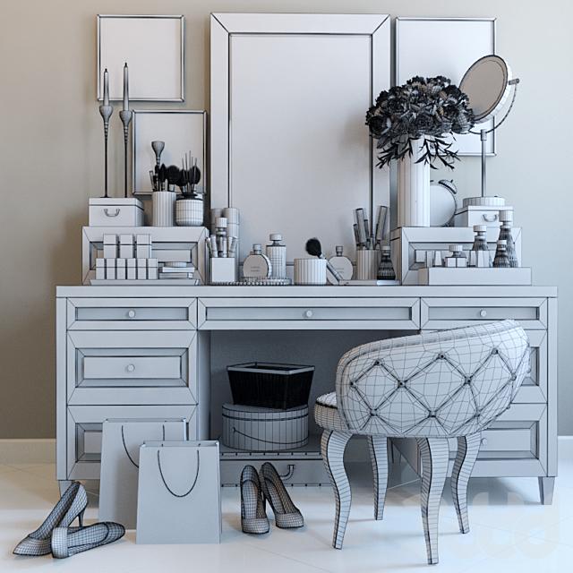 Декоративный набор для туалетного столика 2