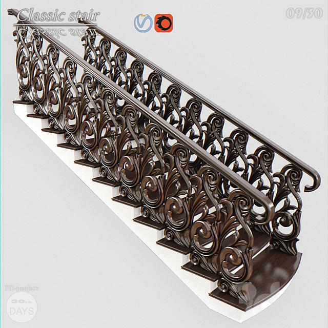 Лестница классическая для ЧПУ.