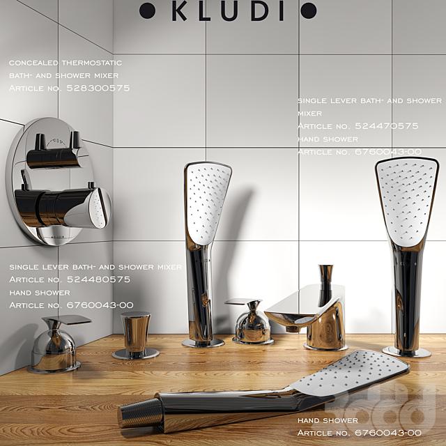 Коллекция смесителей KLUDI серия Balance часть 2
