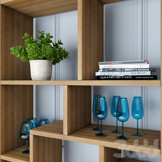 Стеллаж Attento Shelf Multitask