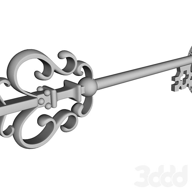 Ключ декоративный.