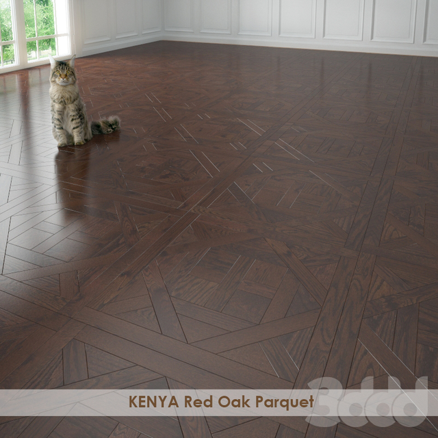 KENYA Red Oak Parquet