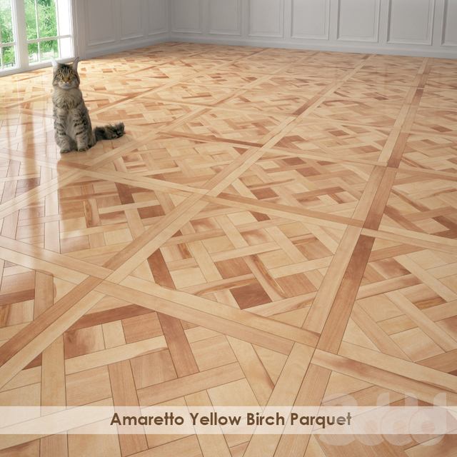 Amaretto Yellow Birch Parquet