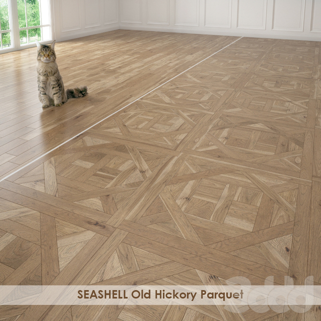 SEASHELL Old Hickory Parquet