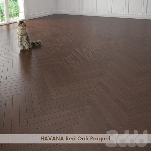 HAVANA Red Oak Parquet