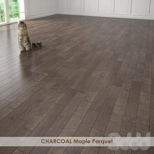 CHARCOAL Maple Parquet