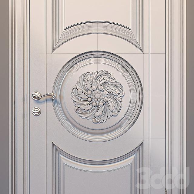 Дверь классическая №1