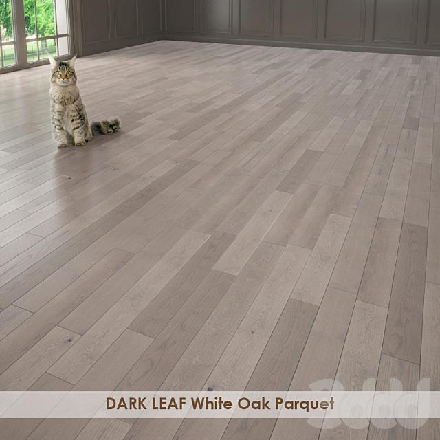 DARK LEAF White Oak Parquet