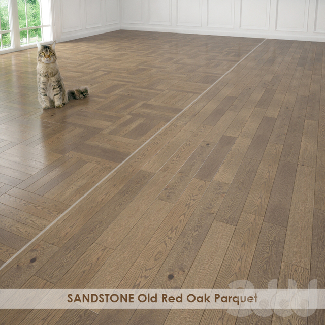 SANDSTONE Old Red Oak Parquet