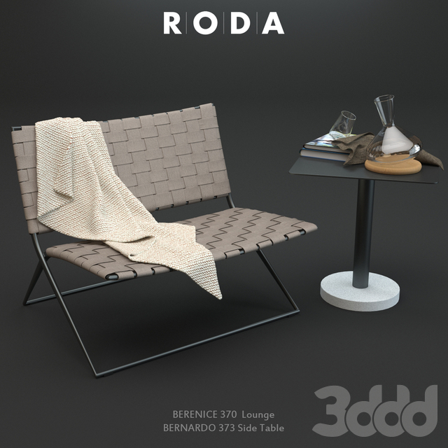 Roda Berenice Lounge and Bernardo Table