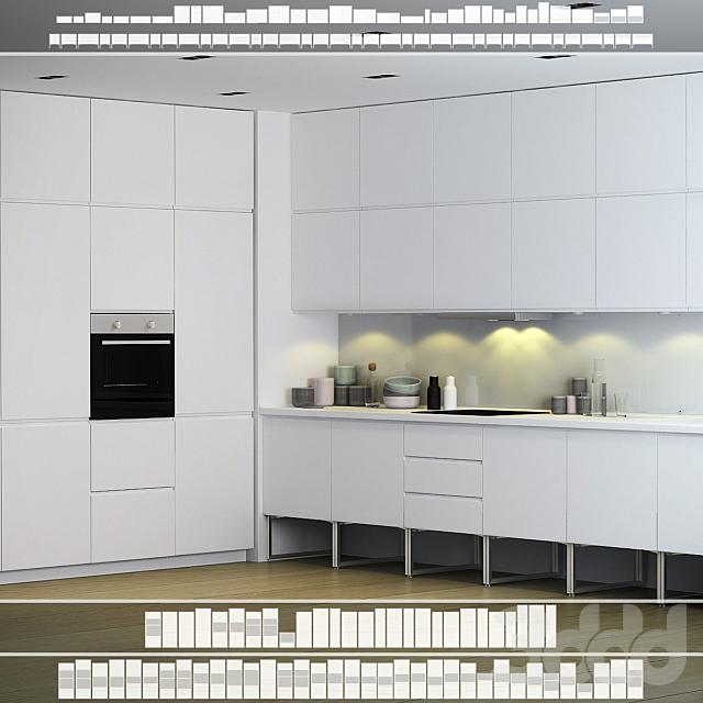 Кухня IKEA Воксторп / Лимхамн.