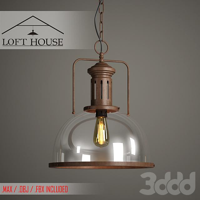 Светильник подвесной LOFT HOUSE P-122