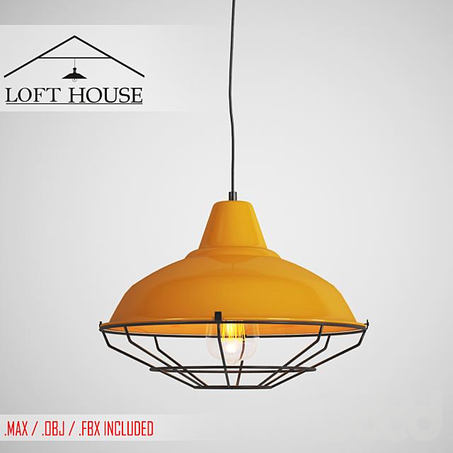 Светильник подвесной LOFT HOUSE P-92