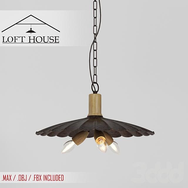 Светильник подвесной LOFT HOUSE P-143