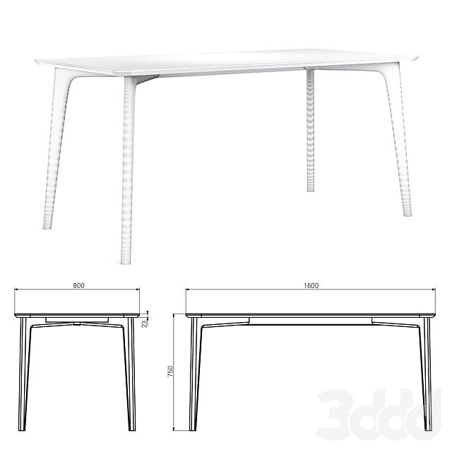 Обеденный стол IGGY от THE IDEA