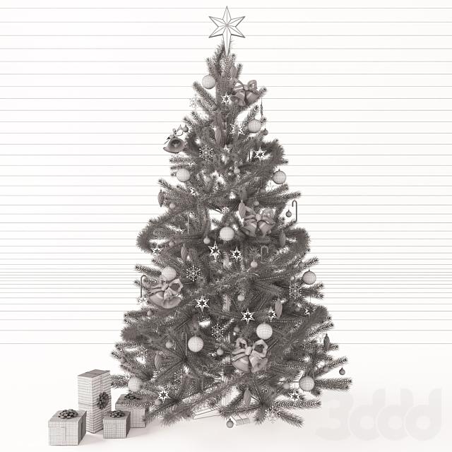 Новогодняя ёлка с подарками