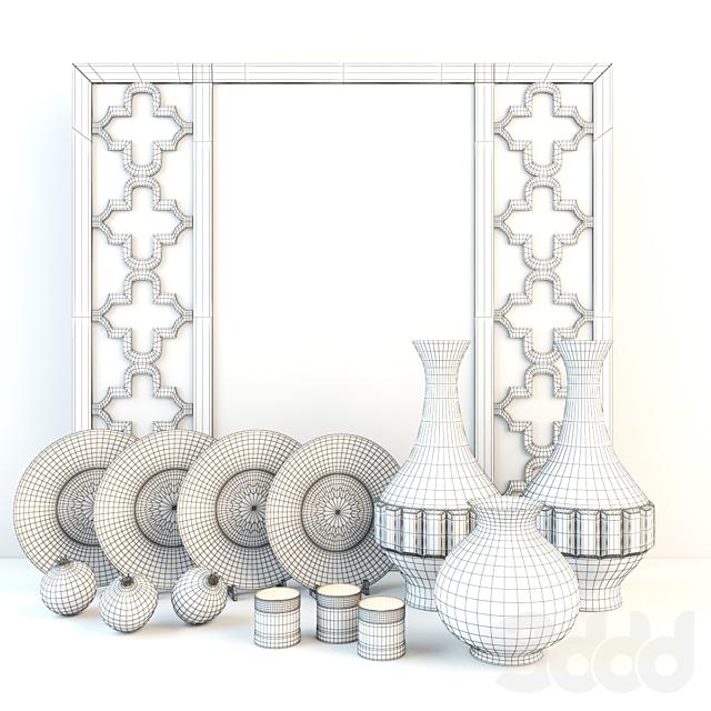 Декоративный набор в восточном стиле