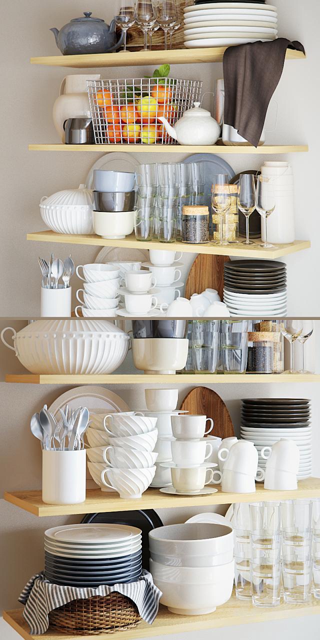 Dishes set - 1