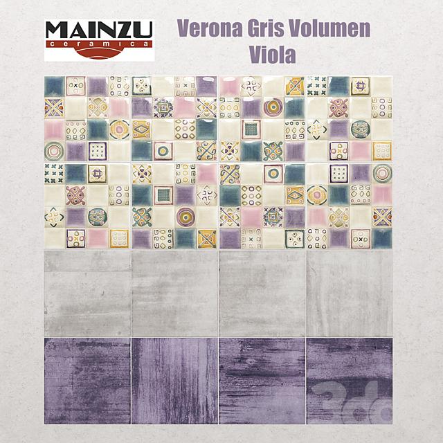 Mainzu Verona Gris Volumen Viola