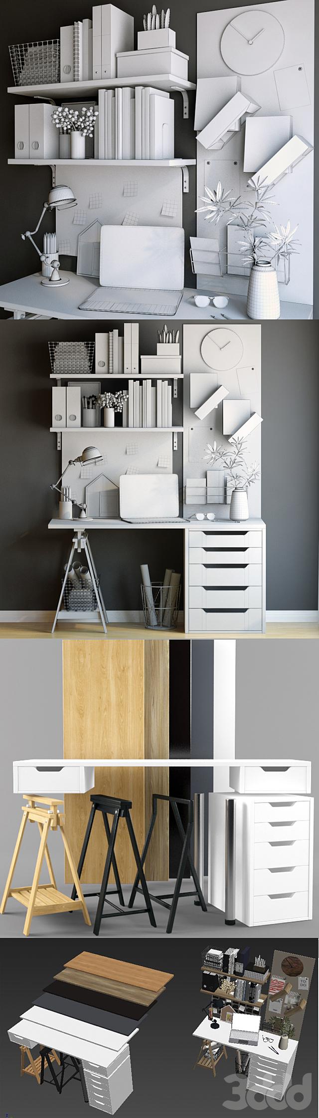 Декоративный набор для рабочего стола 3