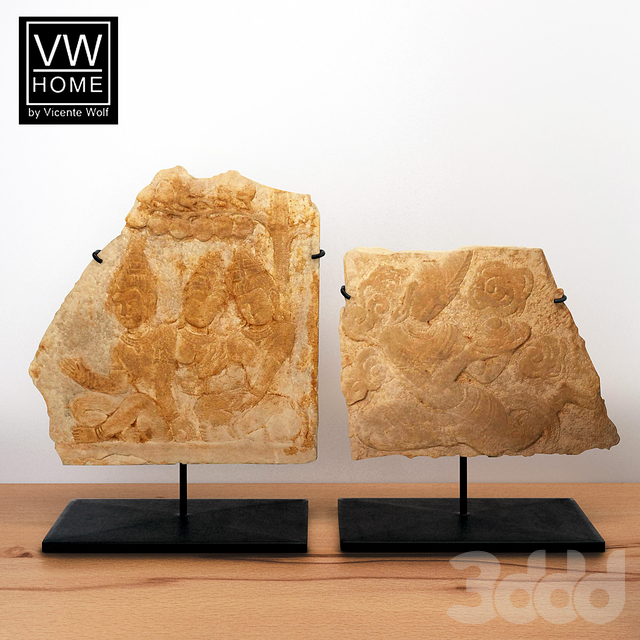 VW Home Vicente Wolf - Carved Sandstone