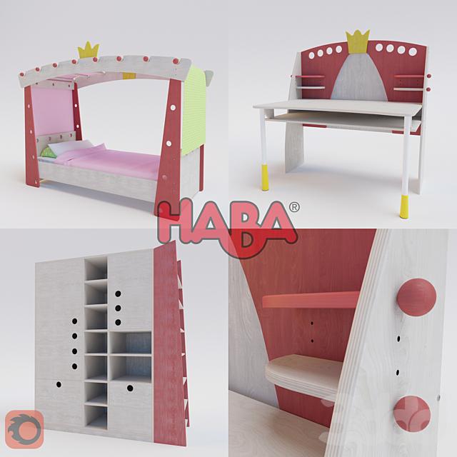Детская мебель Haba(девичья)
