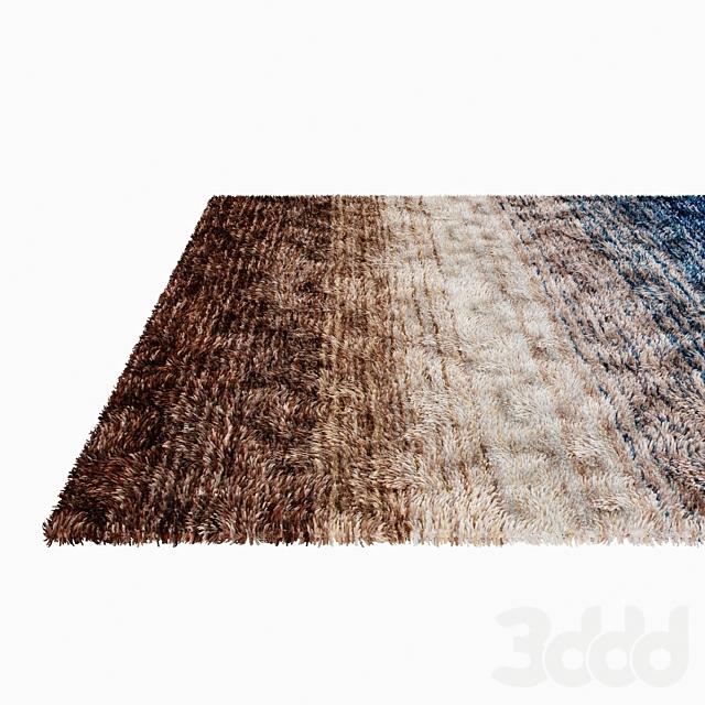 Ковры с длинным ворсом | Area carpet set