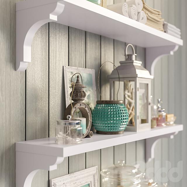 Decorative set for bathroom set 1