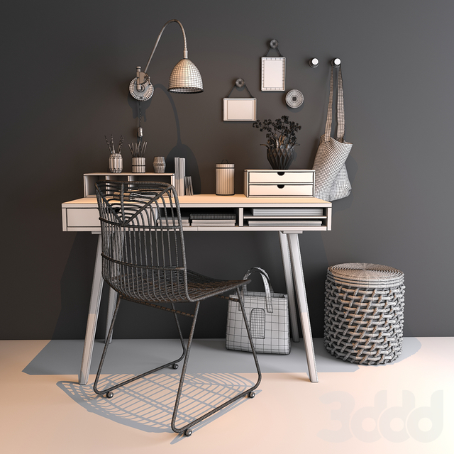 Home workspace set
