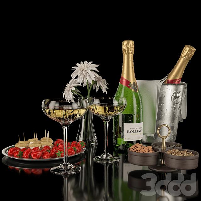 Bollinger Champagne Set