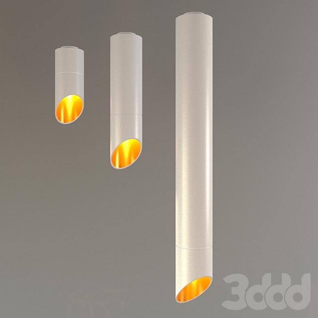 Накладной светильник D-067U белый