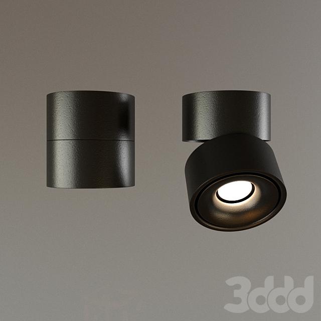 Накладной светильник DP-042BW черный